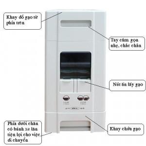 Đánh giá thùng đựng gạo thông minh Samick 12kg Hàn quốc
