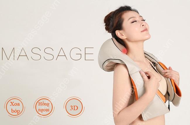 Đai massage lưng, vai, cổ, gáy loại nào tốt