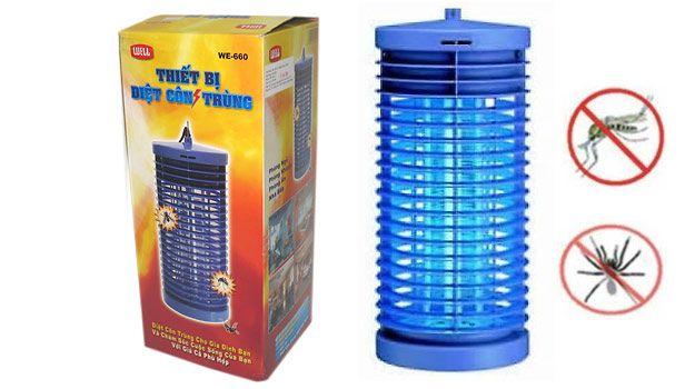 Đèn bắt muỗi diệt côn trùng Well DS-D6