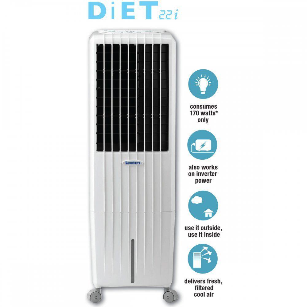 Quạt điều hòa không khí Symphony Diet 22i Nhập khẩu ấn độ