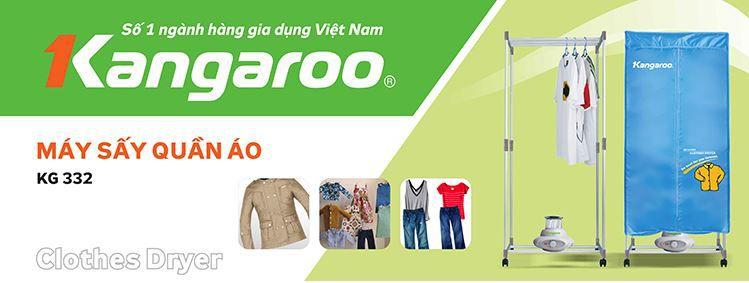 Máy sấy quần áo Kangaroo KG32