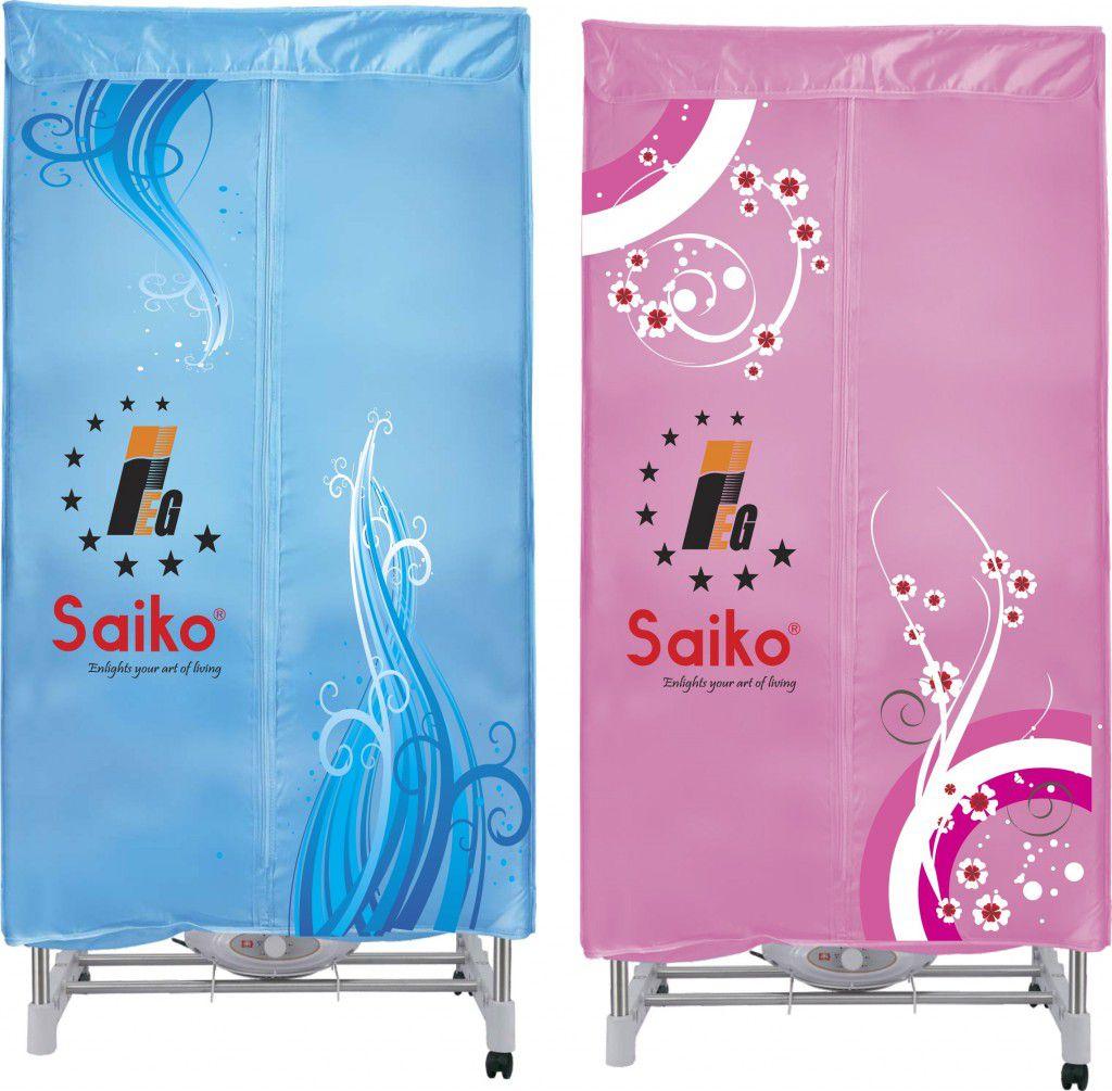 Máy sấy quần áo Saiko với 2 màu sắc
