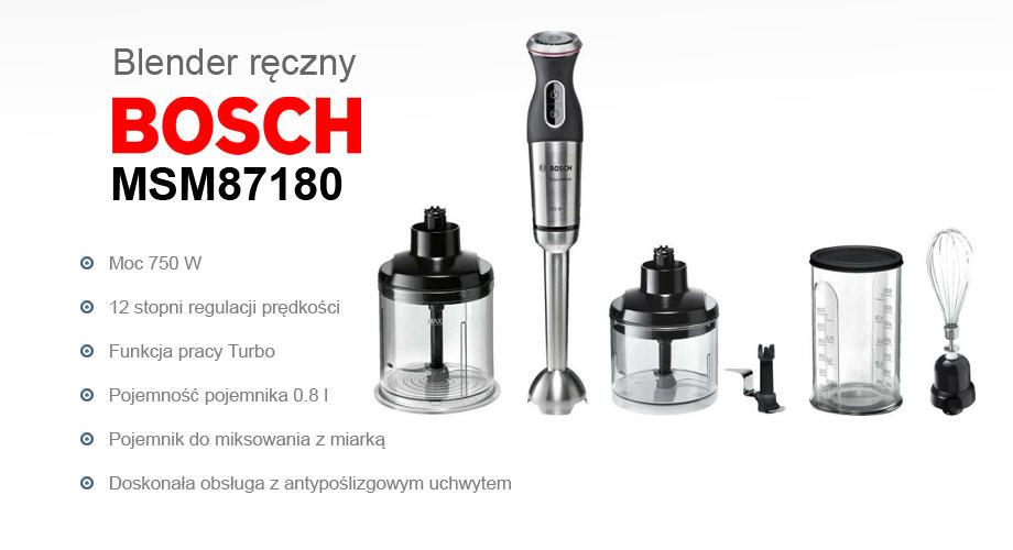 Máy xay cầm tay đa năng Bosch MSM87180 - Đức