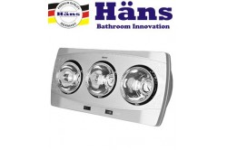 Đèn sưởi nhà tắm Hans 3 bóng