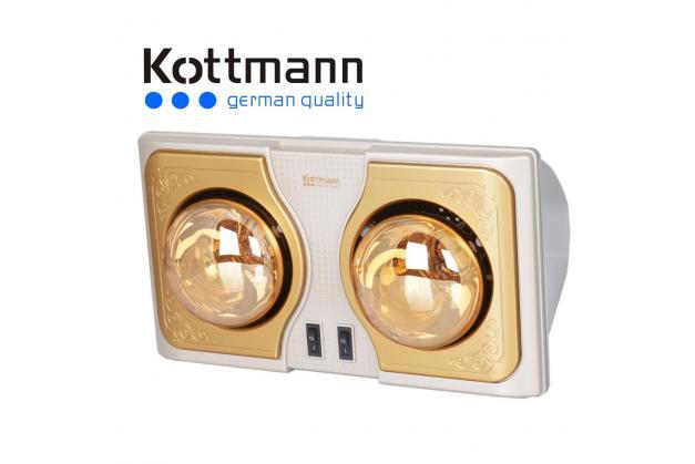 Đèn sưởi nhà tắm Kottmann 2 bóng