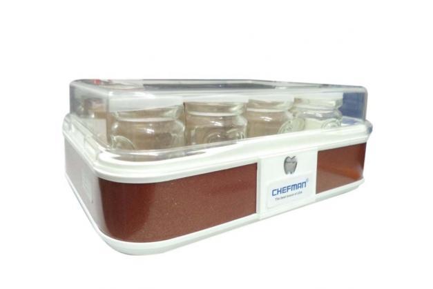 Máy làm sữa chua Chefman 12 cốc thủy tinh CM-311T
