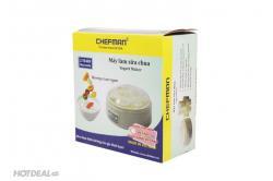 Máy làm sữa chua Chefman 8 cốc nhựa CM-302N