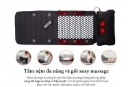 Đệm massage toàn thân Lanaform Delight LA110316