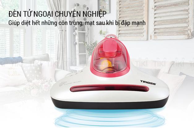 Máy hút bụi trên giường Tiross TS9302 Công nghệ Ba lan
