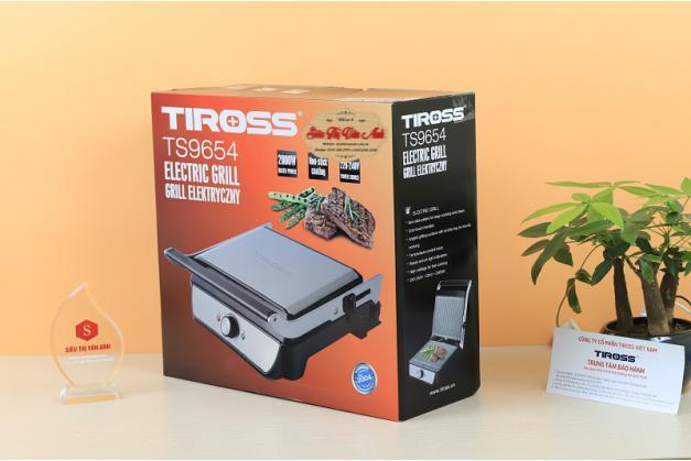 Máy kẹp bánh mỳ Tiross TS9654 Công suất 2000W
