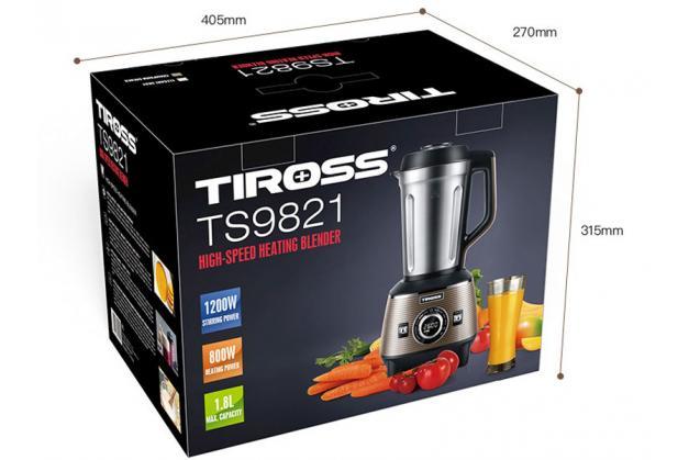 Máy làm sữa hạt đa năng Tiross TS9821 Công nghệ Ba lan