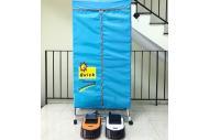 Máy sấy quần áo Hàn quốc 2 tầng có đèn UV