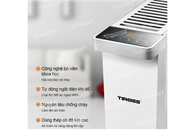 Máy sưởi dầu Tiross TS9216 Công nghệ Ba lan