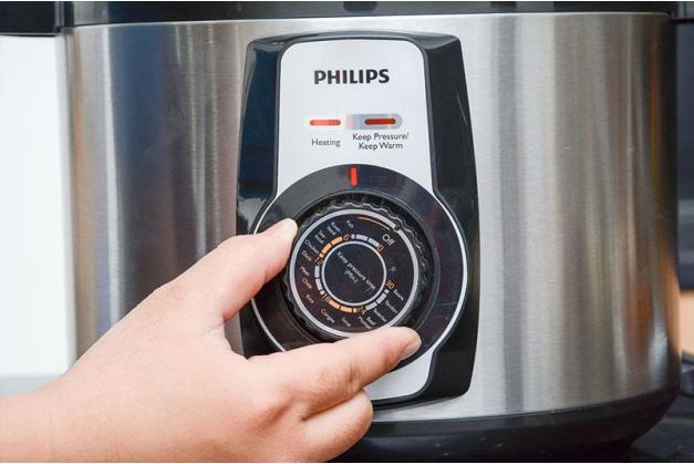 Nồi áp suất điện Philips HD2103/65 Hàng chính hãng