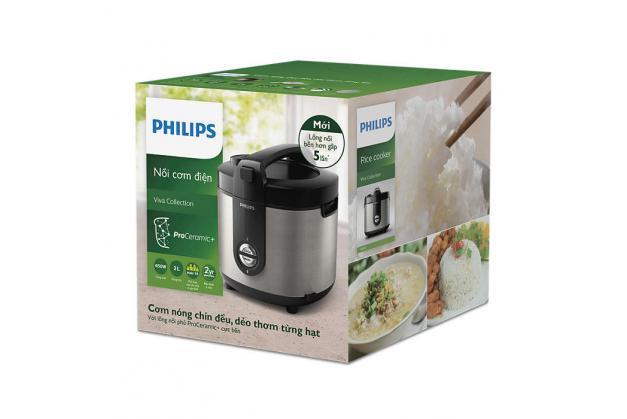 Nồi cơm điện Philips HD3132/66 Hàng chính hãng