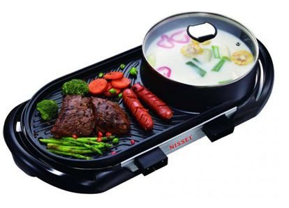 Bếp lẩu nướng Nissei NS-EG68 của Hàn Quốc