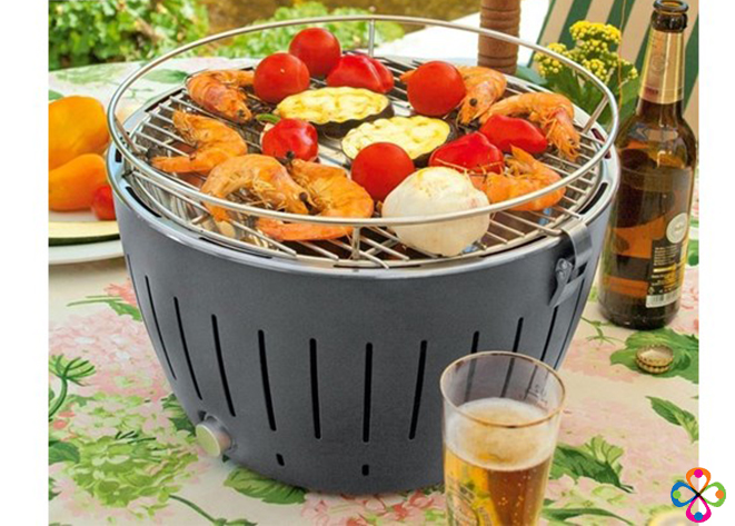Bếp nướng than hoa BBQ Home BN-01 Hàn Quốc