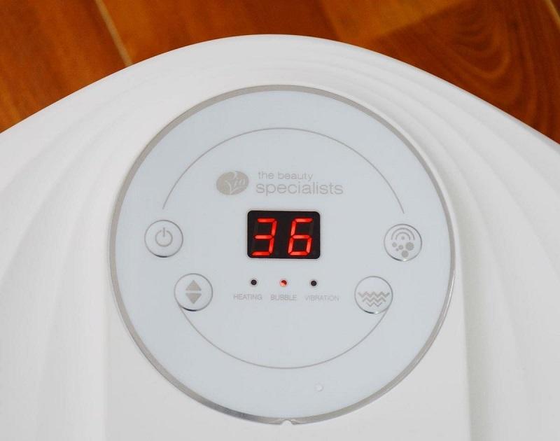 Nhiệt độ điều chỉnh từ 35-48 độ C
