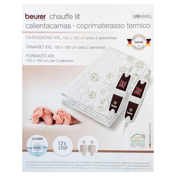 Vỏ hộp của Đệm điện Beurer UB68XXL