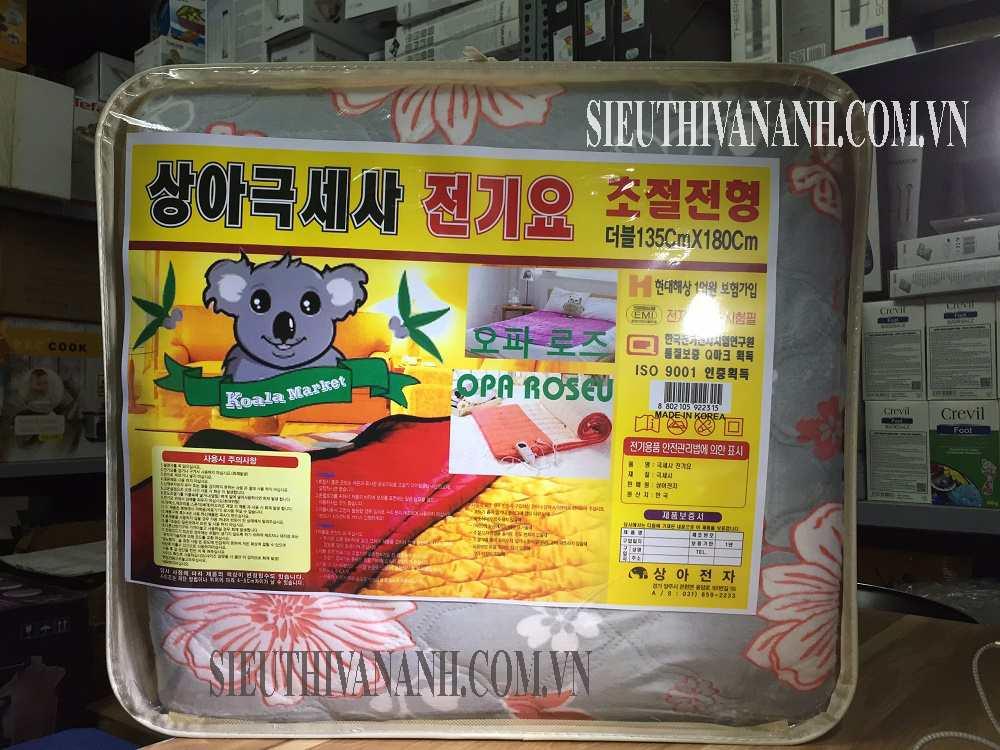 Chăn điện Hàn quốc Koala Nhập khẩu Hàn quốc