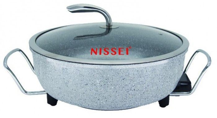 Chảo điện đa năng Nissei NS-EP58 Hàn quốc