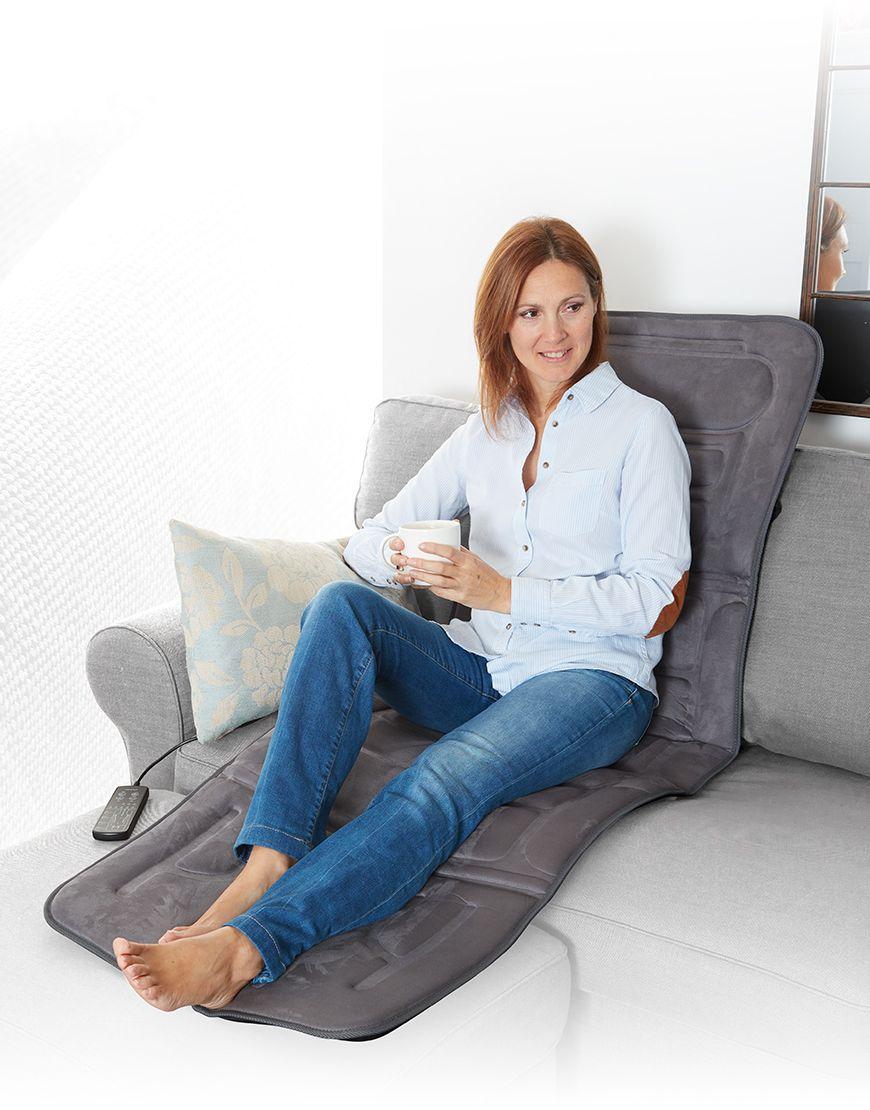 Đệm massage toàn thân Lanaform mattress LA110315 Nhập khẩu Bỉ