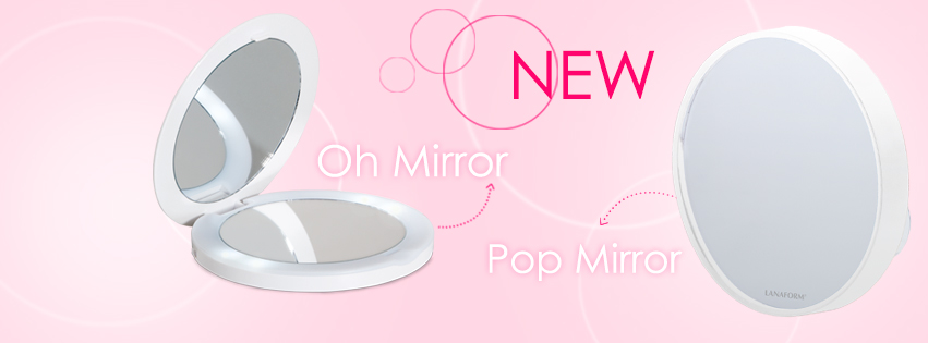 Gương trang điểm Lanaform Mini Oh Mirror X10