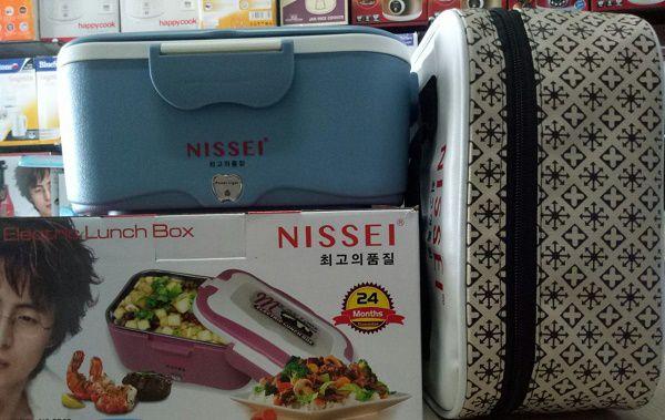 Hộp cơm điện văn phòng Nissei NS-EB02 Hàn quốc