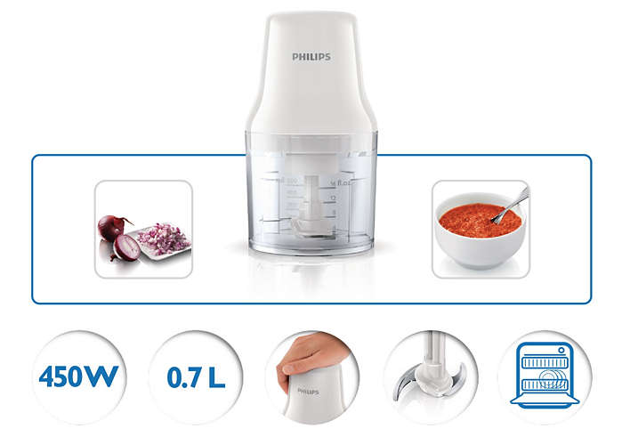 Máy xay thịt Philips HR1393/00 Hàng chính hãng