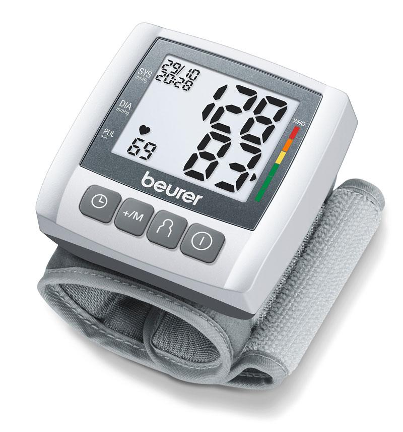 Máy đo huyết áp cổ tay điện tử Beurer BC30 Nhập khẩu Đức