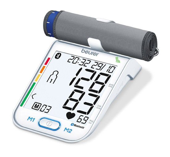 Máy đo huyết áp Beurer BM77 Của Đức có Bluetooth