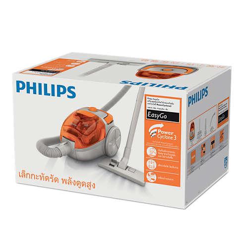 Máy hút bụi không túi Philips FC8085/01 Chính hãng