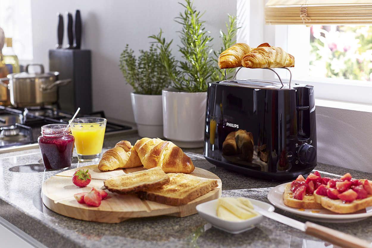 Máy nướng bánh mỳ Philips HD2582 - Chính Hãng