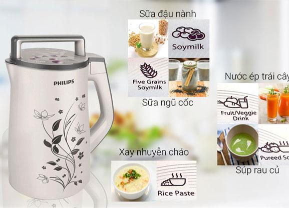 Máy làm sữa đậu nành Philips HD2072 - Hàng chính hãng