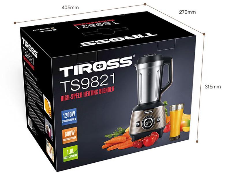 Vỏ hộp của máy làm sữa hạt Tiross TS9821