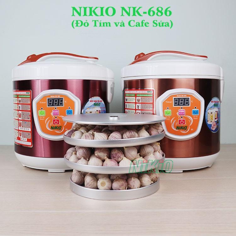 Máy làm tỏi đen Nikio NK-686 Nhật bản 2019