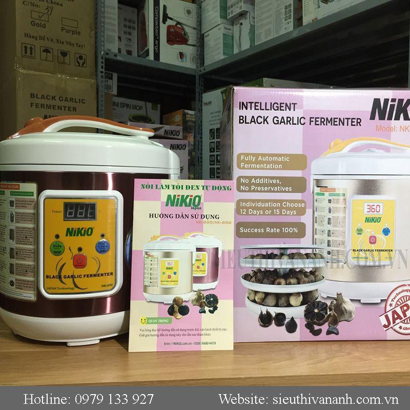 Nồi làm tỏi đen Nikio NK695 Nhật bản mới nhất 2018