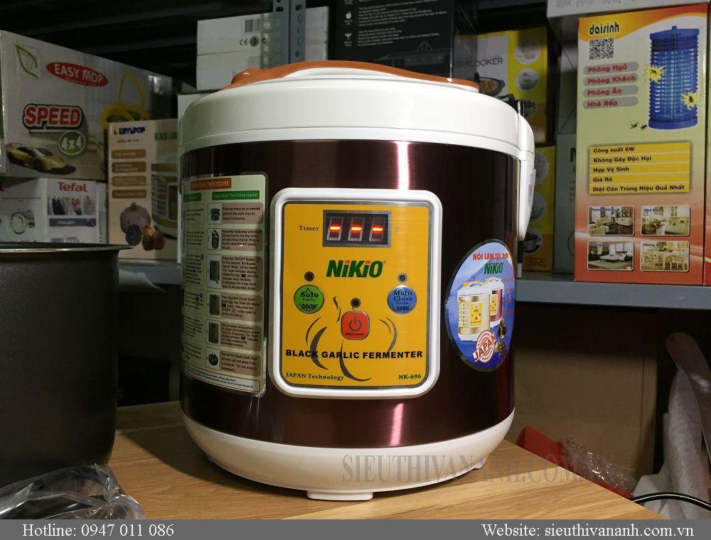 Nồi làm tỏi đen NiKio NK696 Nhật bản dung tích 6L mới nhất 2018