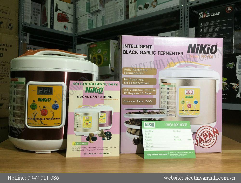 Máy làm tỏi đen Nikio NK696 Nhật bản