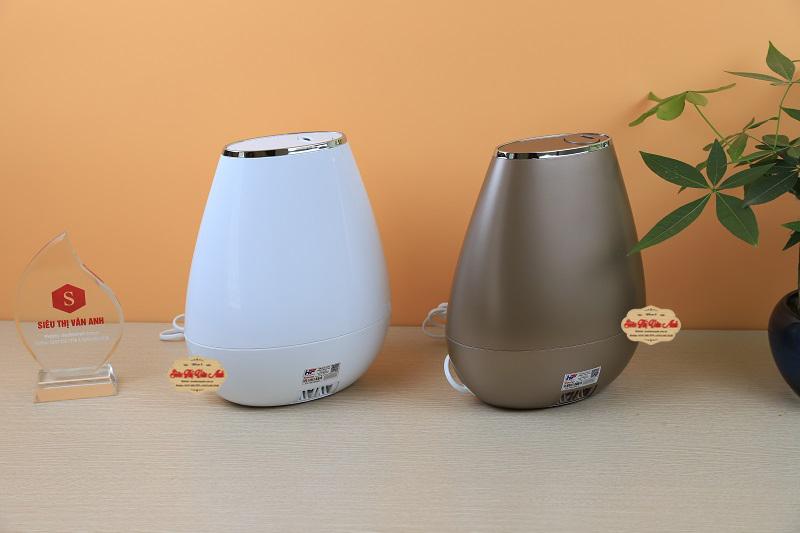 Máy tạo ẩm không khí Beurer LB37 với màu cafe và trắng