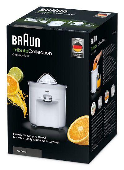 Máy vắt cam Braun CJ 3050 nhập khẩu Đức