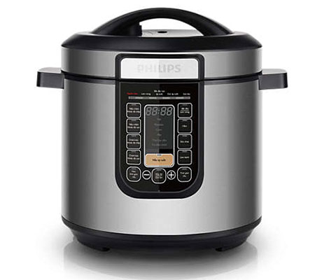 Nồi áp suất Philips HD2137 Công nghệ nấu chậm tiên tiến
