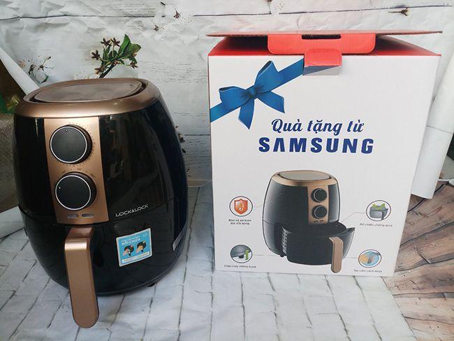 Nồi chiên không dầu Lock&Lock EJF445 Qùa tặng Samsung