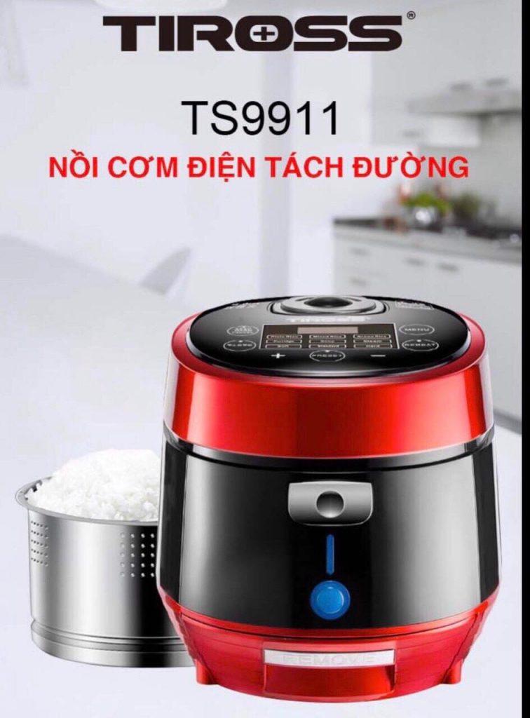 Nồi cơm tách đường Tiross TS9911 Công nghệ Ba lan