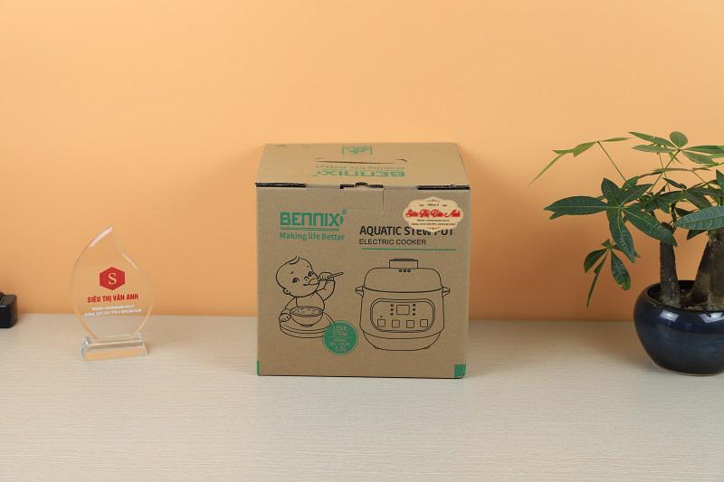 Vỏ hộp Nồi chưng yến Bennix BN-100A