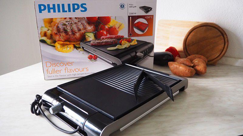 Vỉ nướng điện Philips HD4419/20 Hàng chính hãng